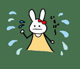 Mii of a rabbit sticker #4715300