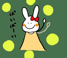 Mii of a rabbit sticker #4715301