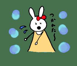 Mii of a rabbit sticker #4715305