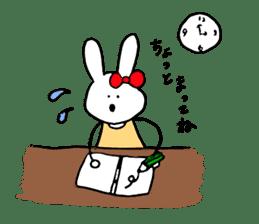 Mii of a rabbit sticker #4715308