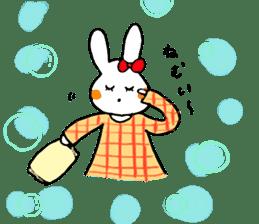 Mii of a rabbit sticker #4715309