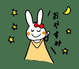 Mii of a rabbit sticker #4715310