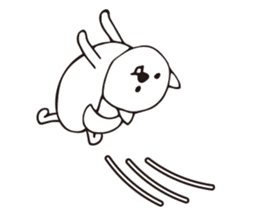 Puppy's Life  - Eat , Sing , Yoga - sticker #4716465