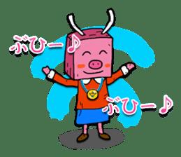 BonBoku Usagi sticker #4717884