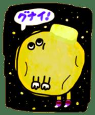 Sticker of farewell sticker #4717915