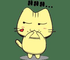 Funny pussycat sticker #4718162