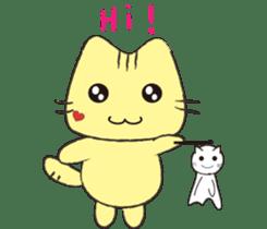 Funny pussycat sticker #4718172
