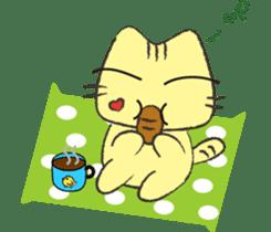 Funny pussycat sticker #4718178