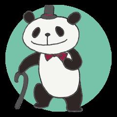 Gentle panda