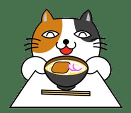 TAMAO of tortoiseshell cat sticker #4747728