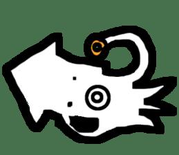 Mr.Octopus and Mr.Squid sticker #4747879