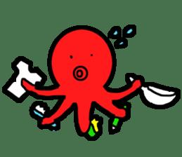 Mr.Octopus and Mr.Squid sticker #4747894