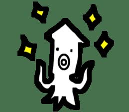Mr.Octopus and Mr.Squid sticker #4747903