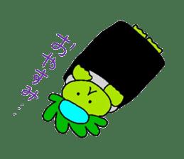 Good friend of  rabbit and kappa sticker #4748147