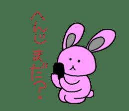 Good friend of  rabbit and kappa sticker #4748149