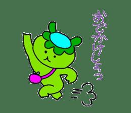 Good friend of  rabbit and kappa sticker #4748152