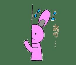 Good friend of  rabbit and kappa sticker #4748156