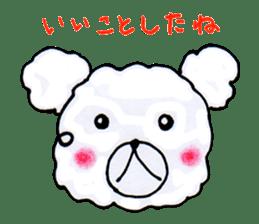 Cloud bear sticker #4748625