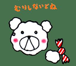 Cloud bear sticker #4748627