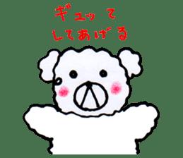 Cloud bear sticker #4748637