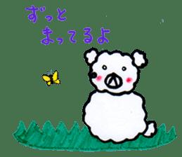 Cloud bear sticker #4748640