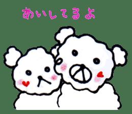 Cloud bear sticker #4748647