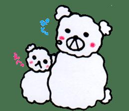 Cloud bear sticker #4748653