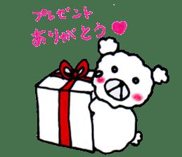 Cloud bear sticker #4748656