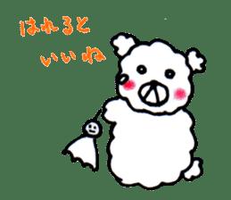 Cloud bear sticker #4748657