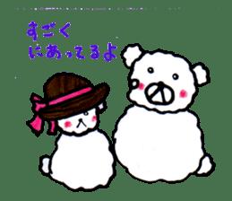 Cloud bear sticker #4748661