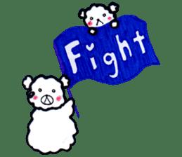Cloud bear sticker #4748663