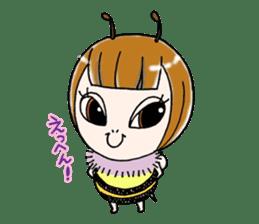 Honey bee sticker sticker #4748864
