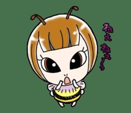 Honey bee sticker sticker #4748865