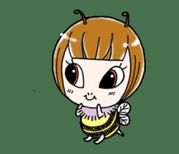 Honey bee sticker sticker #4748866