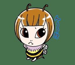 Honey bee sticker sticker #4748868