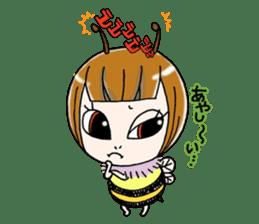 Honey bee sticker sticker #4748869