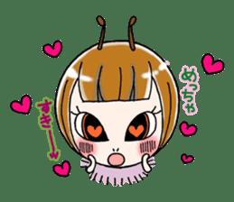 Honey bee sticker sticker #4748875