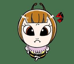 Honey bee sticker sticker #4748876