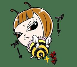Honey bee sticker sticker #4748878