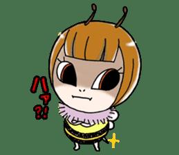 Honey bee sticker sticker #4748879