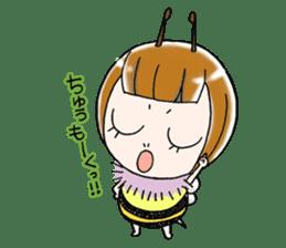 Honey bee sticker sticker #4748880