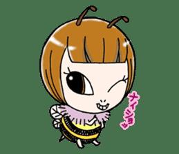 Honey bee sticker sticker #4748881