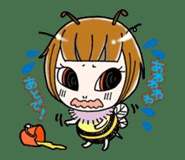 Honey bee sticker sticker #4748882