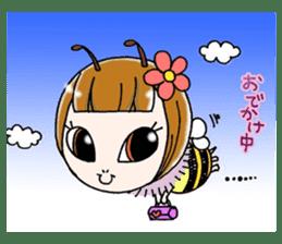 Honey bee sticker sticker #4748883