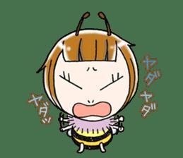 Honey bee sticker sticker #4748886