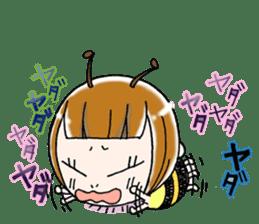 Honey bee sticker sticker #4748887