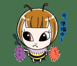 Honey bee sticker sticker #4748888