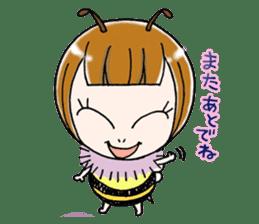 Honey bee sticker sticker #4748889