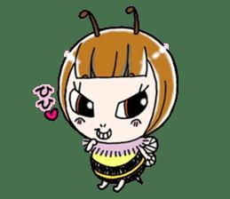 Honey bee sticker sticker #4748890