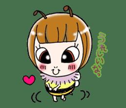 Honey bee sticker sticker #4748895